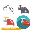 meat grinder icons vector image vector image