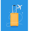 modern and realistic luggage design stock vector image vector image