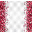 pink glitter abstract background tinsel shiny vector image vector image