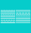 vintage lace borders seamless lace borders for vector image