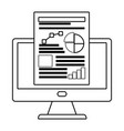 workflow computer and infographic design