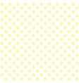 yellow flower pattern seamless vector image vector image