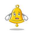 afraid school bell character cartoon
