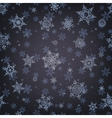 Christmas pattern snowflake background EPS 10 vector image vector image