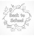Freehand school vector image vector image