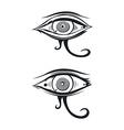 horus eye vector image vector image