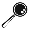 magnify glass icon simple style vector image vector image