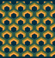 seamless abstract pattern of hexagons in vector image vector image