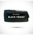 black-friday-white vector image vector image