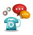 customer service design vector image