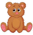 Cute baby bear cartoon vector image vector image