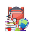education and study learning concept vector image vector image