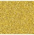 Glitter golden seamless texture vector image vector image