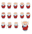 set moses icons vector image vector image