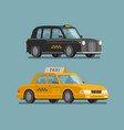 taxi service cab concept car vehicle transport vector image