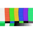 abstract background Distorted glitch TV vector image vector image