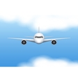 Civil Aircraft airplane vector image vector image