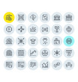 cryptocurrency icons collection vector image