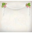 Floral Vintage Wedding Background vector image vector image