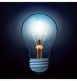 glow lamp vector image vector image