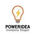 Power Idea Design vector image vector image