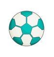 soccer ball flat vector image vector image