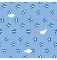 Swallow in the sky pattern vector image vector image