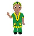 African Boy vector image vector image