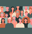 big crowd concept vector image