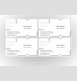 bright business card templates set vector image