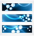 hyaluron acid or abstract molecule science design vector image