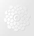 Lotus flower and Zen circle vector image vector image