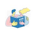 sexual health school sexuality education program vector image