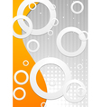 Technology bright design vector image vector image