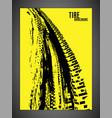 tire off road brochure-15 vector image vector image