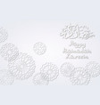background with arabic white pattern vector image vector image