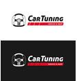 car tuning service logo for automobile workshop