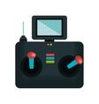drone control remote icon vector image vector image
