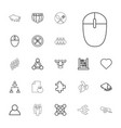 group icons vector image vector image