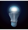 LED lamp vector image