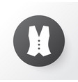 vest icon symbol premium quality isolated vector image vector image