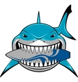 White shark vector image vector image