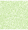 seamless pattern with leafs vector image