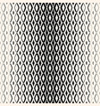 halftone geometric seamless pattern with diamond vector image