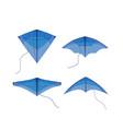 kite flying festival vector image vector image