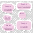 Pink text frames vector | Price: 1 Credit (USD $1)
