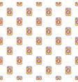 washing machine pattern seamless vector image vector image