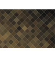 abstract geometric background with brown mosaic vector image