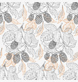 beer hop seamless pattern retro beer background vector image