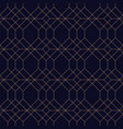 creative geometric seamless ornamental background vector image